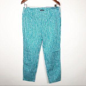 Marimekko Polka Dotted Blue Turquoise Pants